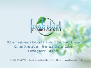 Chlorine Dioxide Odour Elimination