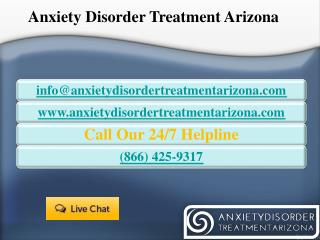Anxiety Disorder Treatment Arizona