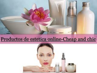 Productos de estetica online-Cheap and chic