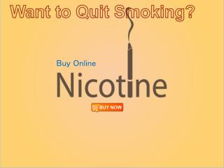 Want to Quit Nicotine?-Buy nicotine gum 4mg