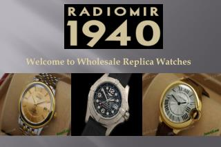 Wholesale Replica Watches