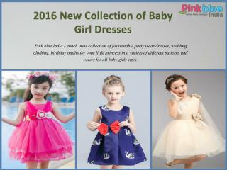 2016 New Collection of Kids Partywear Clothing