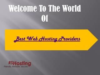 Best UK web hosting