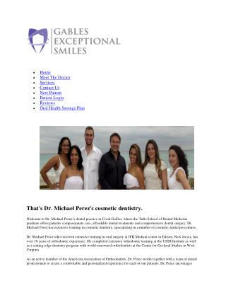 Best dentist coral gables