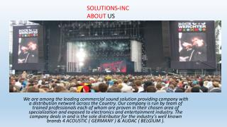 commercial sound solution