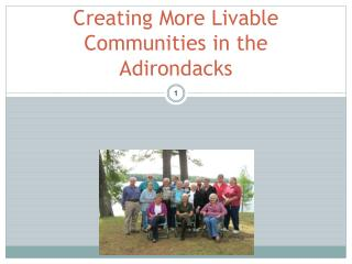 Creating More Livable Communities in the Adirondacks