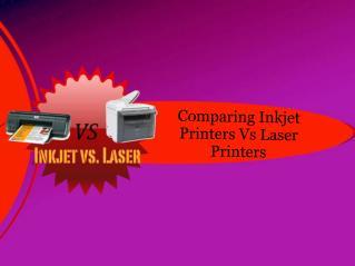 Comparing Inkjet Printers Vs Laser Printers