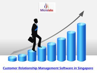 Customer Relationship Management Software in Singapore