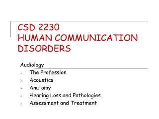 CSD 2230
