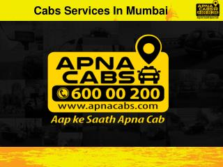 Cabs Services In Mumbai
