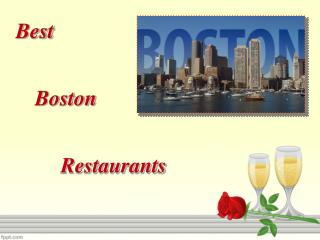 Best Boston Restaurants