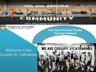 Personal Training St. Catharines