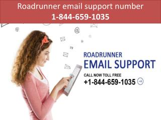 Roadrunner email support number 1-844-659-1035