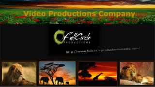 Video Productions Services company