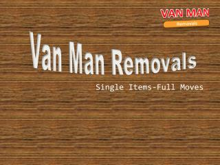 Availing  Van and Man for relocation in Edinburgh