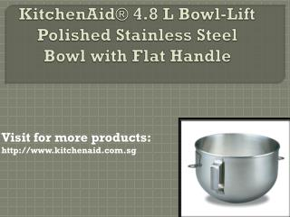 KitchenAid® 4.8 L Tilt-Head Glass Bowl