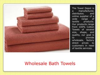 Wholesale Hand Towels Bulk
