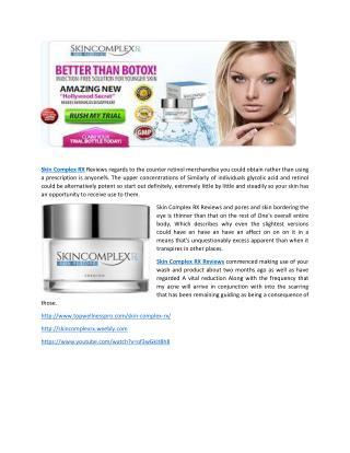 Skin Complex RX Skin Restore