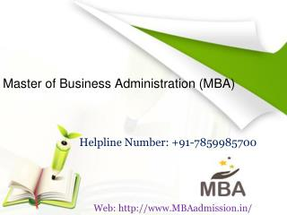 MBA Admission in India | Top MBA Colleges in India