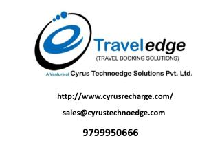 Buy Travel Software with API from Cyrus Technoedge
