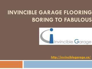 Invincible Garage Flooring: Boring to Fabulous