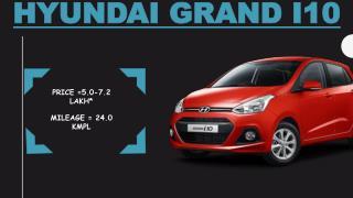 Gleaming Hyundai Grand i10