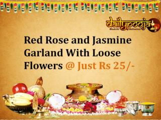Buy Pooja Flowers Combo Online From Daily pooja @ Rs 25/- Only
