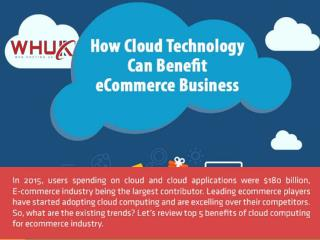 How Cloud Technology can Benefit eCommerce Business