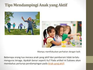 Tips Mendampingi Anak yang Aktif