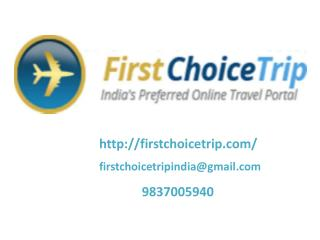 Book Your Travel Destination By FirstChoiceTrip