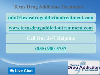 Drug Addiction Treatment Helpline Texas