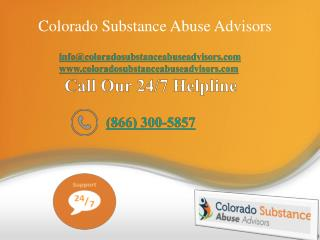 Colorado substance Abuse Advisors