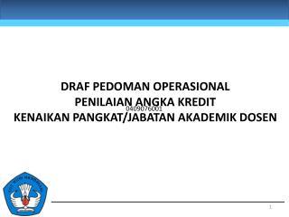 Pedoman operasional Permendikbud