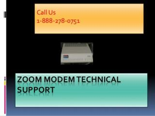 Zoom modem Customer care 1 888 278 0751 Phone Number