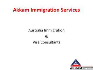 Australia Immigration Consultants in Bangalore