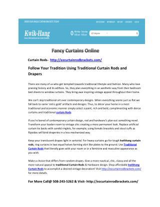 Fancy Curtains Online
