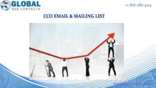 CCO Email & Mailing List