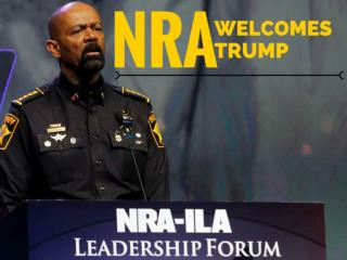 NRA welcomes Trump