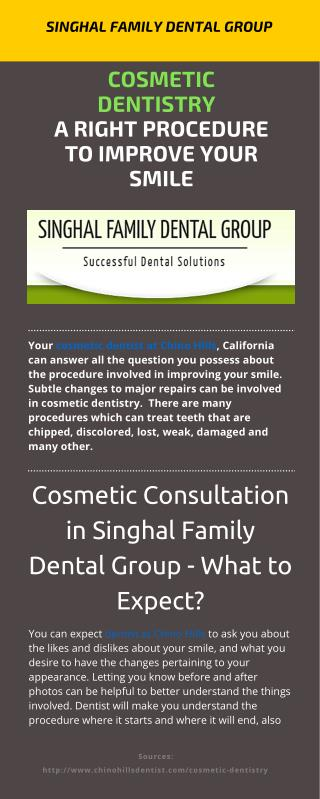 Cosmetic Dentistry – A Right Procedure To Improve Your Smile