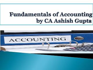 Accounting-A summary