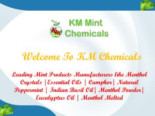 Natural Menthol Crystals Manufacturers