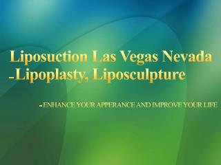 Best Liposuction in Las vegas