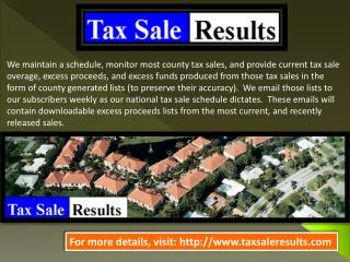 Tax sale los angeles county