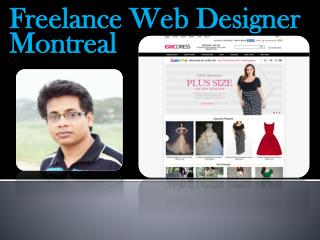 Freelance Web Designer Montreal
