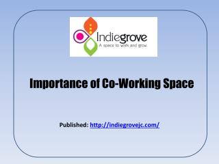 Co Working Space & Shared Office Space