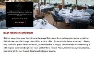 Izakaistanbul - Istanbul best restaurants