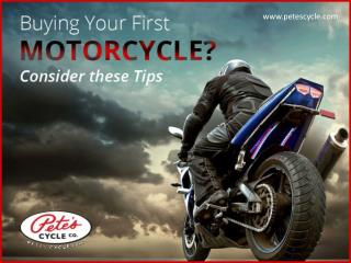 Tips to choosing a Motorcycle