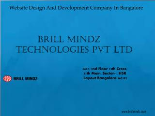 Website Design And Development Company In Bangalore