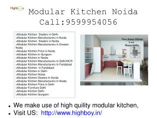 Modular Kitchen Noida, Delhi, Gurgaon, Faridabad, Modular Kitchen Manufacturers in Noida