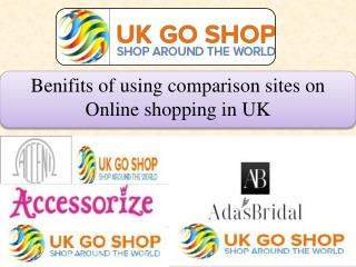 Benifits of using comparison sites on Online shopping in UK